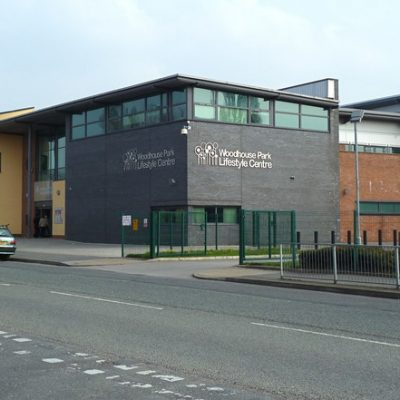 Outside of sports centre