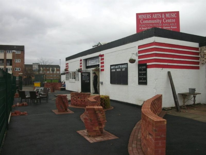 The Miners Community Arts and Music Centre building.