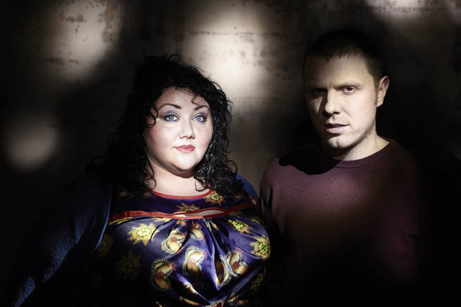 Stuart McCallum and Ríoghnach Connolly of the Breath who will feature in Manchester Folk Festival 2021.