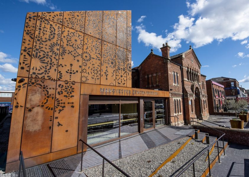 The exterior of Manchester Jewish Museum.