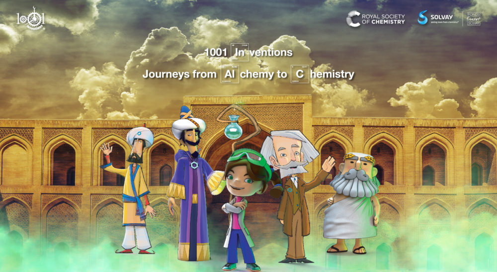 1001 Inventions: Journeys from Alchemy to Chemistry
